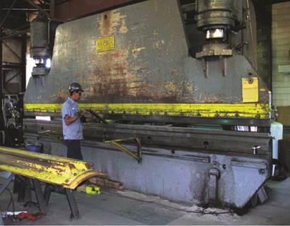 Heavy Steel Plate Fabrication Denver